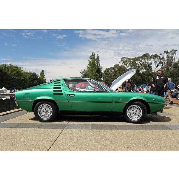 Alfa Romeo Photograph - 1974 Alfa Romeo Montreal. #autoitalia by Anthony Croke