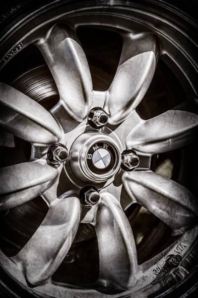 Photograph - 1974 Bmw 2002 Wheel Emblem -2416ac by Jill Reger