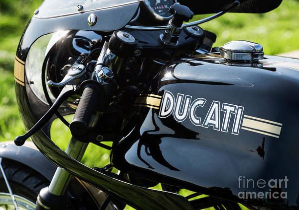 Photograph - 1974 Ducati 750 Sport Motorcycle by Tim Gainey