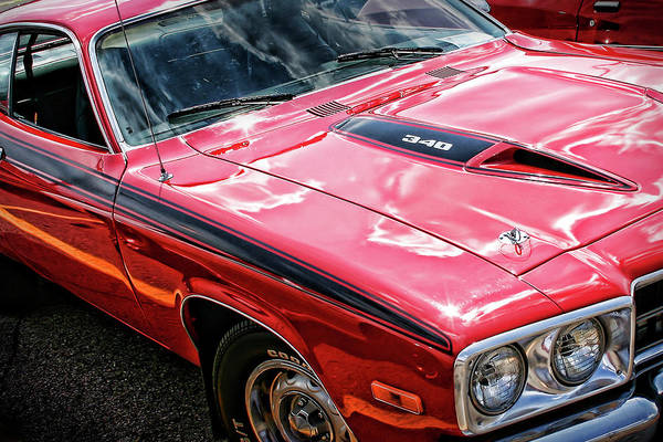 383 Photograph - 1974 Plymouth Road Runner 340 by Gordon Dean II