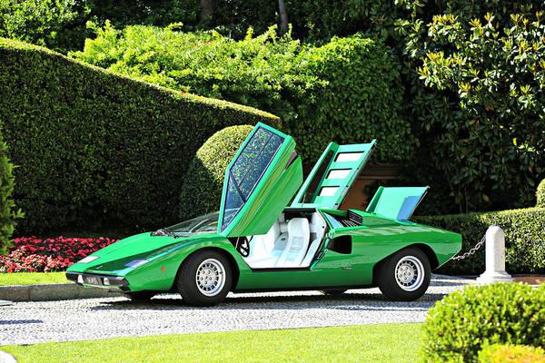 Photograph - 1975 Lamborghini P400 Countach by Steve Natale