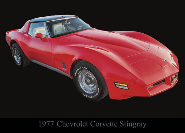Photograph - 1977 Chevy Corvette Stingray by Chris Flees
