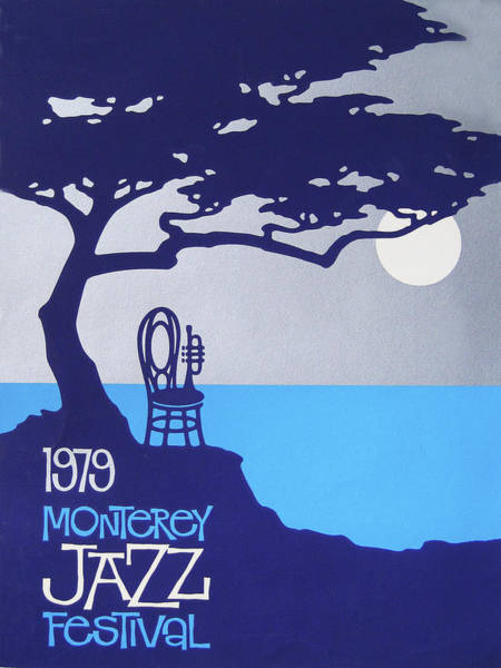 Monterey Wall Art - Painting - 1979 Monterey Jazz Festival  by Charles Vernon Moran