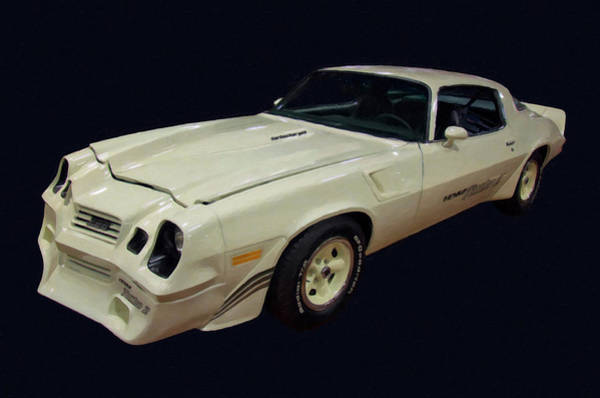 Painting - 1981 Chevy Camaro Yenko Turbo Z Digital Oil by Chris Flees