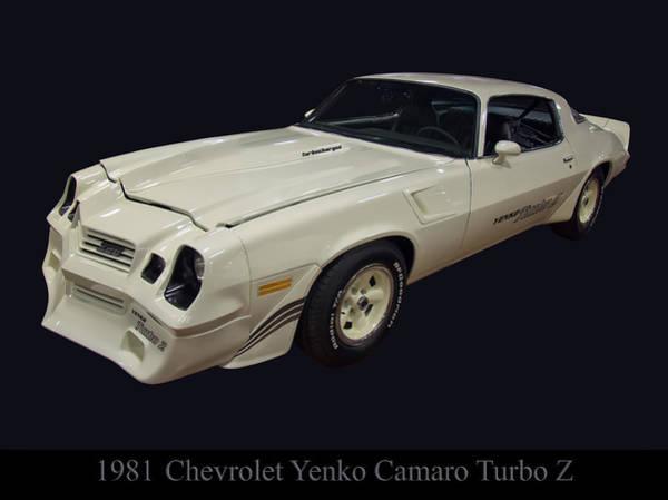 Photograph - 1981 Chevy Yenko Camaro Turbo Z by Chris Flees