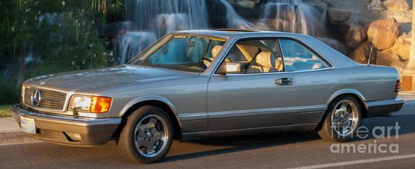 Photograph - 1986 Mercedes 560 Sec by Gunter Nezhoda