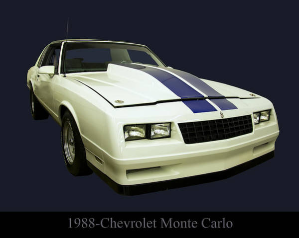 Photograph - 1988 Chevy Monte Carlo by Chris Flees