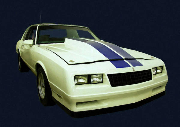 Painting - 1988 Chevy Monte Carlo Digital Art by Chris Flees