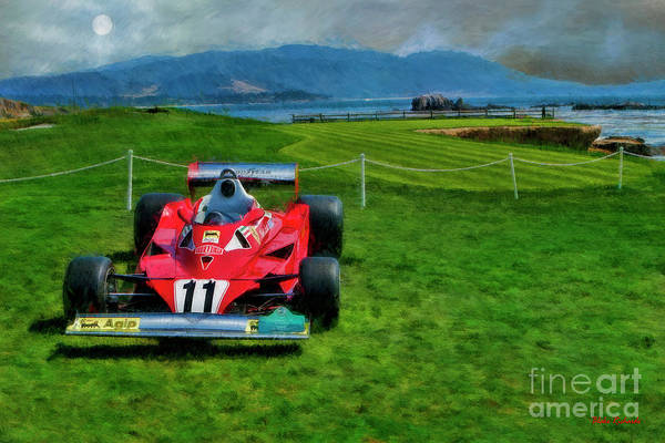 Photograph - Niki Lauda 1997 Ferrari 312t2 Pebble Beach by Blake Richards