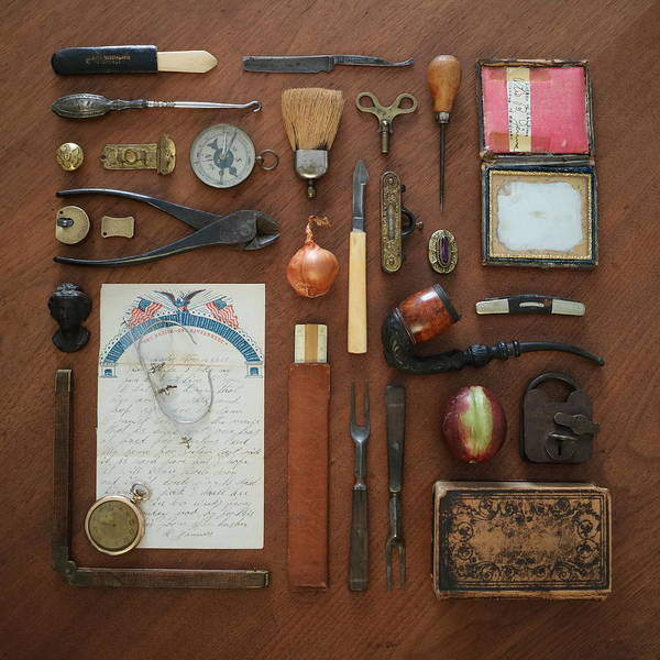 Photograph - 19th Century Collectibles by Deborah J Humphries