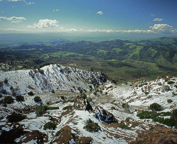 Photograph - 1a6486 Winter Snow Mt. Diablo Ca by Ed Cooper Photography