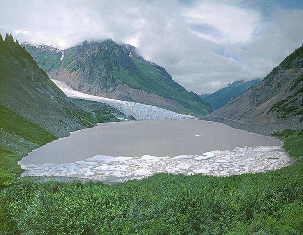 Photograph - 1m2005 Bear River Valley And Glacier by Ed Cooper Photography