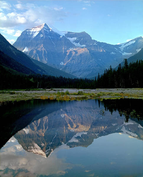 Photograph - 1m2415 Mount Robson Reflect by Ed Cooper Photography