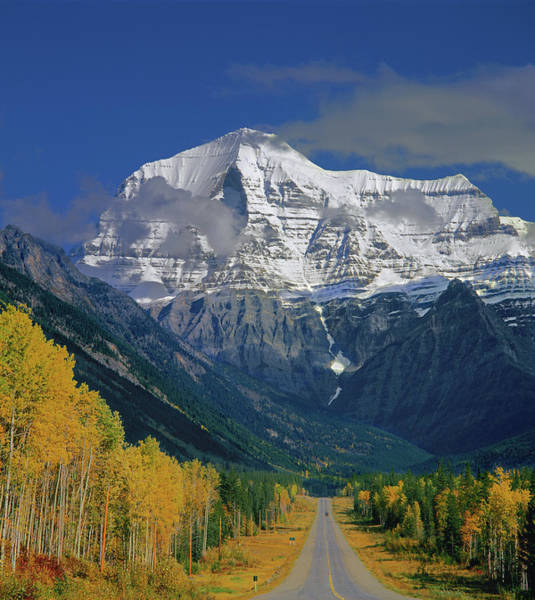 Photograph - 1m2441-v Mt. Robson And Yellowhead Highway V by Ed Cooper Photography