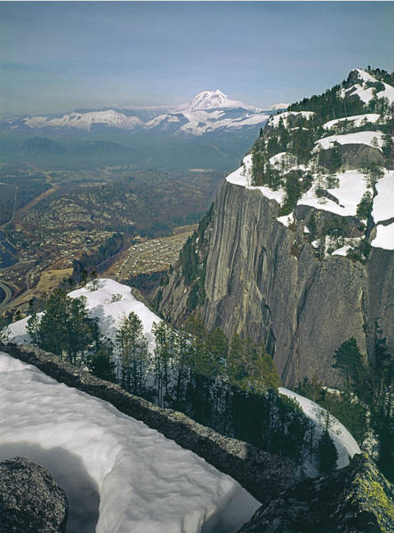 Photograph - 1m2904 Mt. Girabaldi From Summit Of Stawamus Chief by Ed Cooper Photography