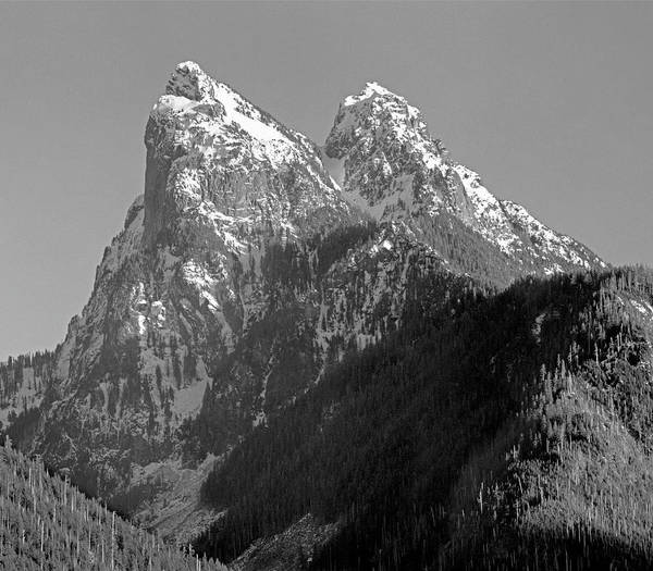 Photograph - 1m4530 Profile View Of Mt. Baring by Ed Cooper Photography