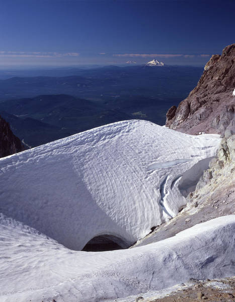 Photograph - 1m5140 Crater On Mt. Hood Or by Ed Cooper Photography