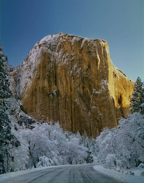 Photograph - 1m6576-winter On El Capitan In 1970 by Ed  Cooper Photography