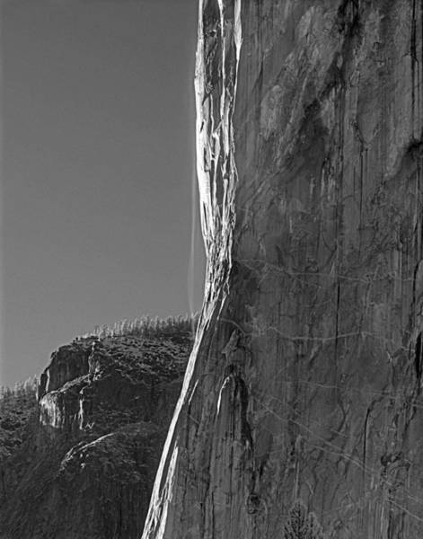 Photograph - 1m6578e El Capitan Nose Fall by Ed Cooper Photography