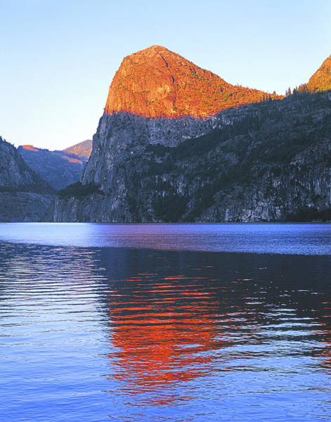 Photograph - 1n6317 Sunset On Kolana Rock Yosemite by Ed Cooper Photography