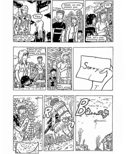 Drawing - War Addiction by Hisashi Saruta