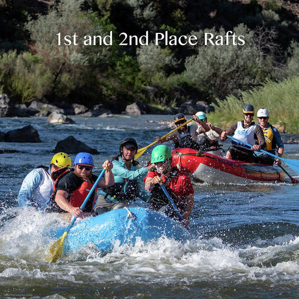Photograph - 1st And 2nd Place Rafts 2018 by Britt Runyon