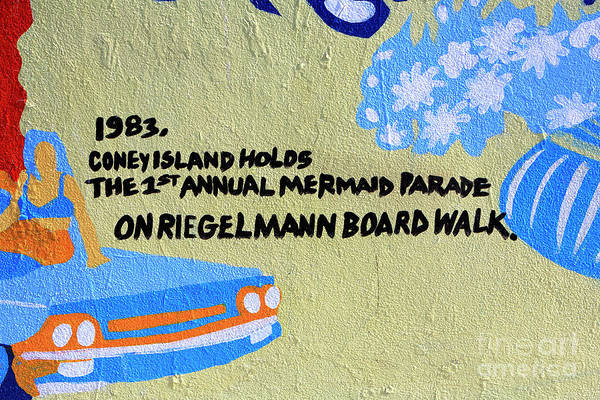 Photograph - 1st Annual Mermaid Parade by John Rizzuto