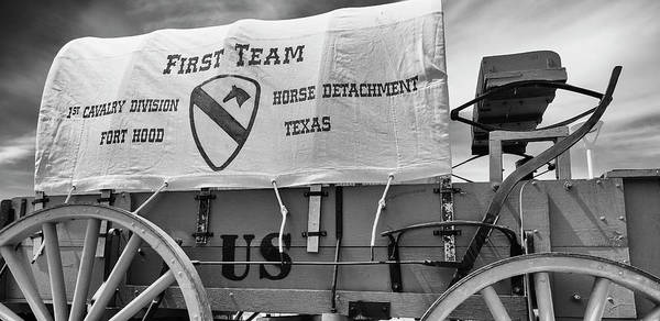 Wall Art - Photograph - 1st Cavalry Division Horse Detachment by Stephen Stookey