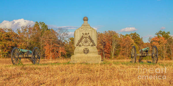 Battery D Wall Art - Photograph - 1st New York Battery D Gettysburg by Randy Steele