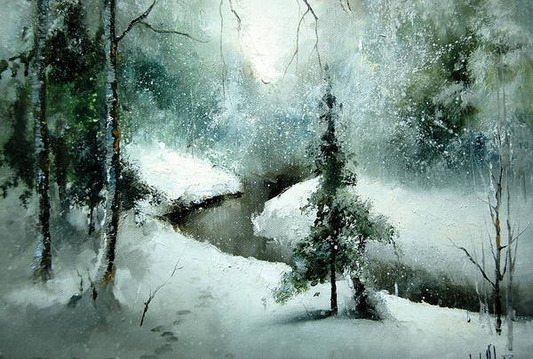 Painting - 1st Of January by Igor Medvedev