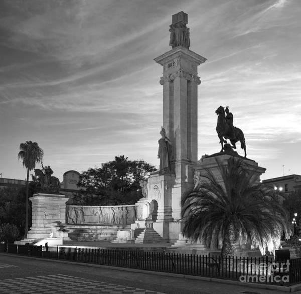 Photograph - 1812 Constitution Centennial Memorial Spain Cadiz Spain by Pablo Avanzini