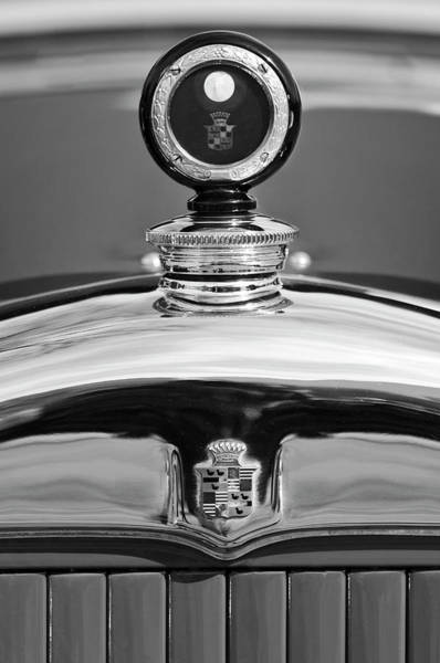 Hoodie Photograph - 1926 Cadillac Series 314 Custom Hood Ornament by Jill Reger