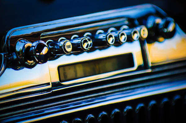 Photograph - 1947 Cadillac Model 62 Coupe Radio by Jill Reger