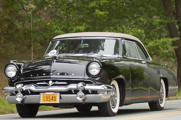 1953 Photograph - 1953 Lincoln Capri Derham Coupe by Jill Reger