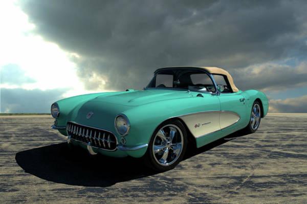 Photograph - 1957 Corvette by Tim McCullough