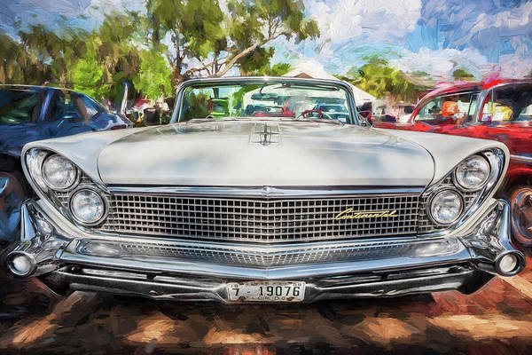 Wall Art - Painting - 1959 Lincoln Continental Town Car Mk Iv Painted  by Rich Franco