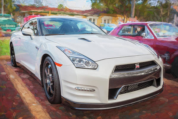 Photograph - 2013 Nissan Gt R by Rich Franco