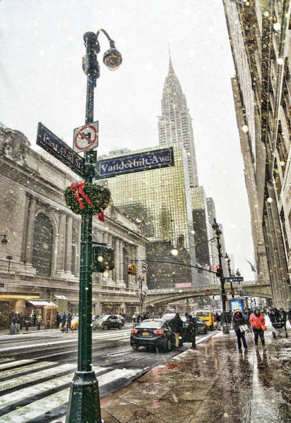 Wall Art - Photograph - 42nd Street by June Marie Sobrito