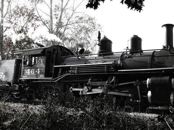 Photograph - 2-8-2 Steam Locomotive 3 by Scott Hovind