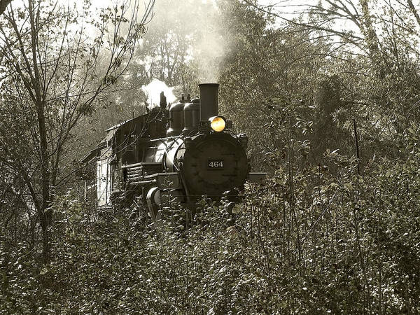 Photograph - 2-8-2 Steam Locomotive by Scott Hovind