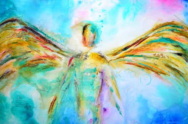 Wall Art - Mixed Media - A Story Of Love by Ivan Guaderrama