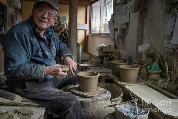 Photograph - A Village Pottery Studio, Japan by Perry Rodriguez