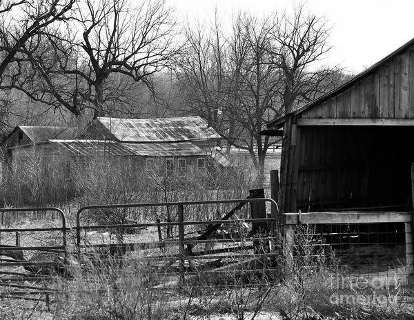 Photograph - Abandoned Farm by Kirt Tisdale