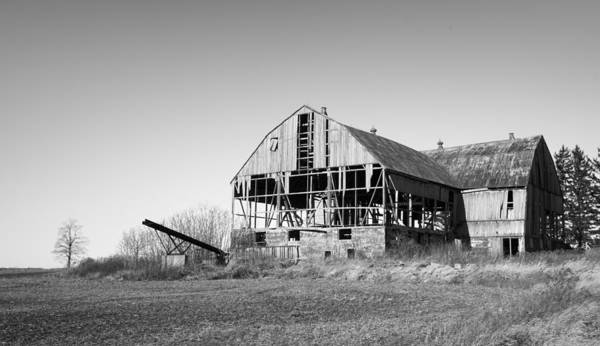 Photograph - Abandoned Farmhouse by Nick Mares