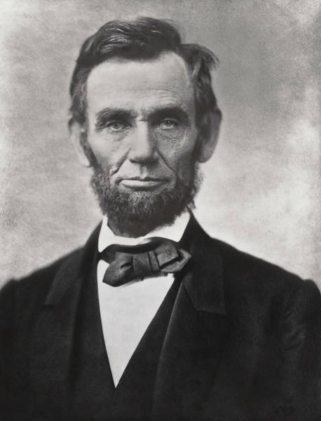 Turmoil Photograph - Abraham Lincoln - 16th U S President by Daniel Hagerman
