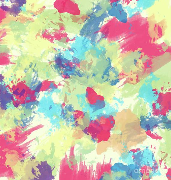 Wall Art - Digital Art - Abstract Painting  by Amir Faysal