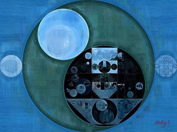 Wall Art - Digital Art - Abstract Painting - Lapis Lazuli by Vitaliy Gladkiy
