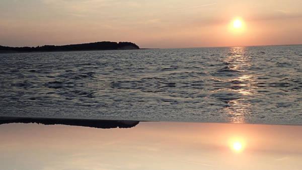 Photograph - Abstract Sunset by Susan Jensen