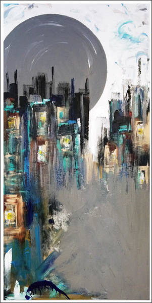 Decorative Wall Art - Painting - After Hours by Mac Worthington