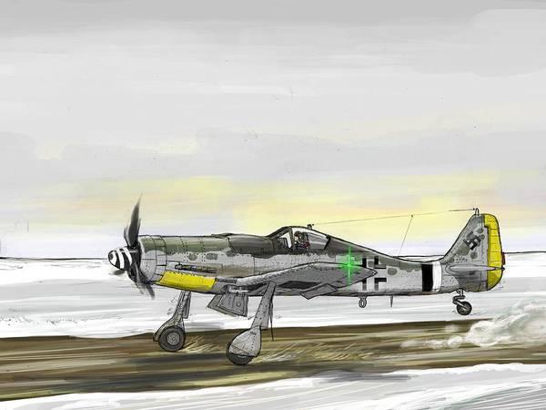 Transportation Digital Art - Aircraft by Maye Loeser